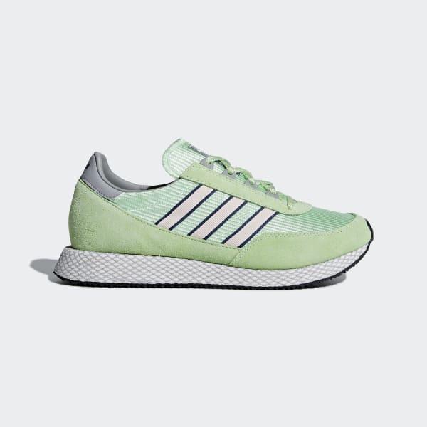 adidas Glenbuck SPZL Shoes - Green | adidas US | Tuggl