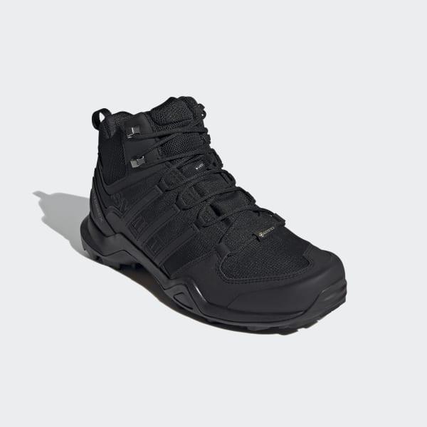 Aplicando Frase Penetrar  adidas Terrex Swift R2 Mid GORE-TEX Hiking Shoes - Black | adidas US