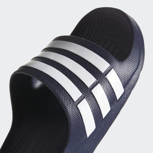 línea Baño brillante  adidas Duramo Slides - Blue | adidas US