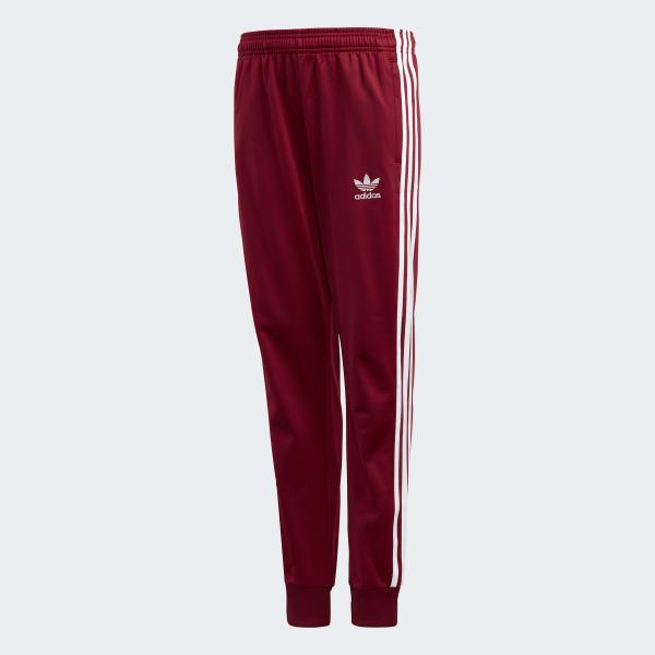 pantalon adidas bordeaux