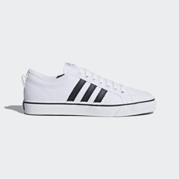 adidas Originals Nizza CQ2333 sneakers hvid m. sort