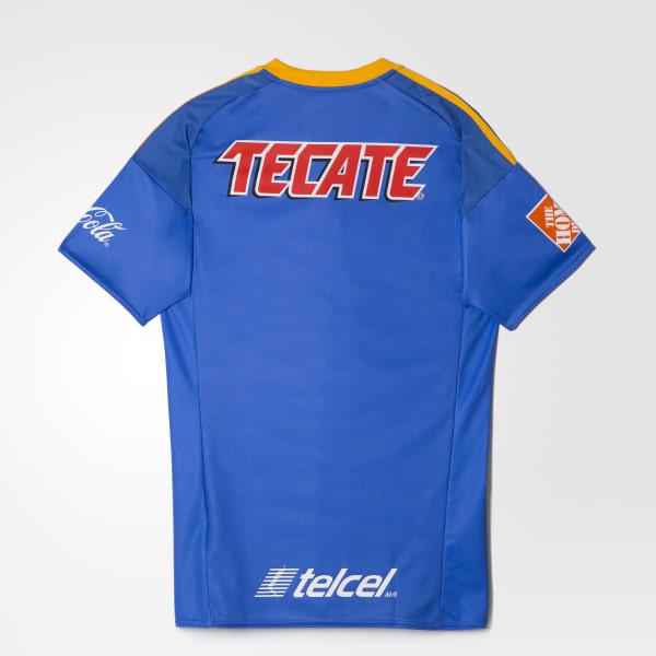 edc7d36d780af Adidas jersey tigres uanl de visitante azul adidas mexico kit club tigres  uniforme imigen jpg 600x600