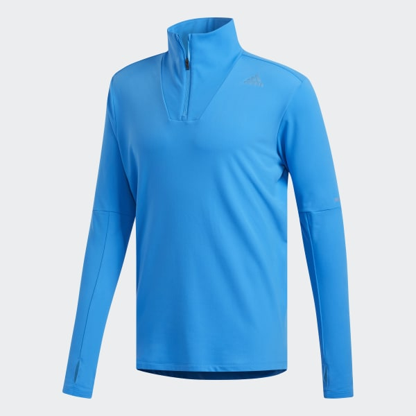 e37f04d2ca8 Camiseta técnica Supernova 1/4 Zip - Azul adidas | adidas España