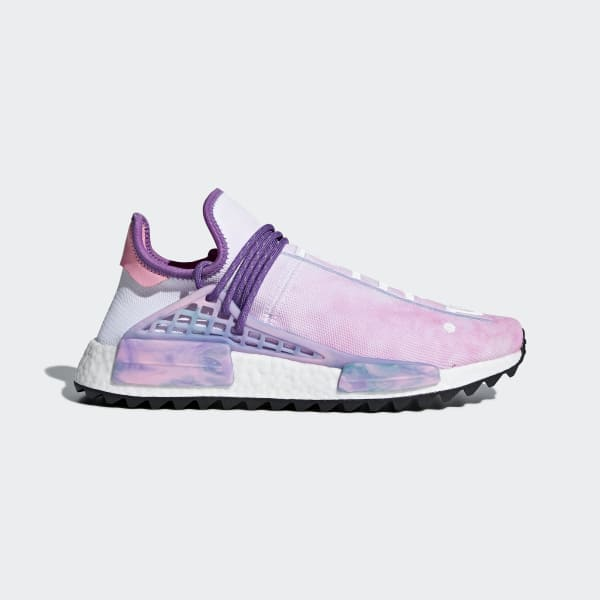 adidas Pharrell Williams Hu Holi NMD MC Shoes - Pink  c280d9395