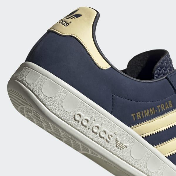 adidas Originals Trimm Trab Samstag Collegiate Navy and Easy Yellow