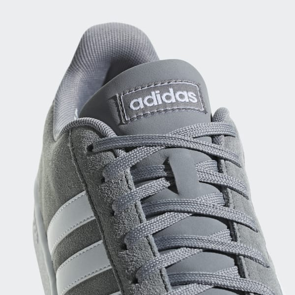 adidas court hombre gris