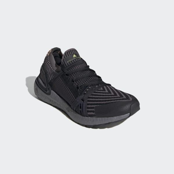 Parpadeo Autónomo Aliviar  adidas By Stella McCartney Ultraboost 20 Shoes - Black | adidas UK