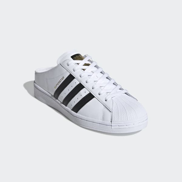 adidas Superstar Slip-on Shoes - White