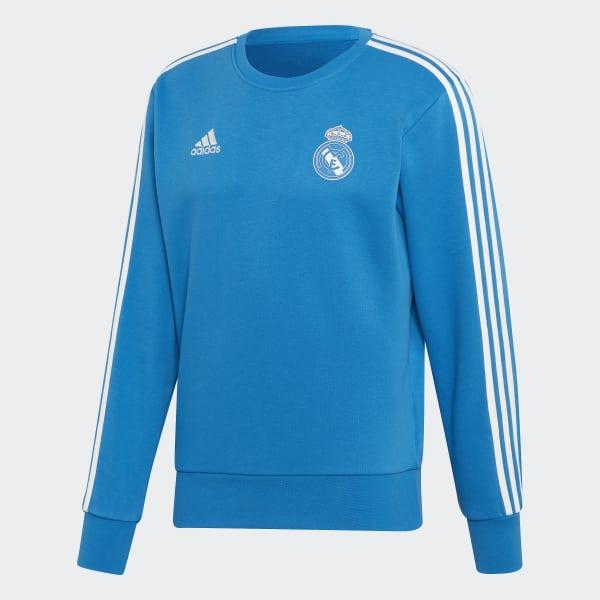 info for 94ae0 297cb adidas Real Madrid Sweatshirt - Blue   adidas UK