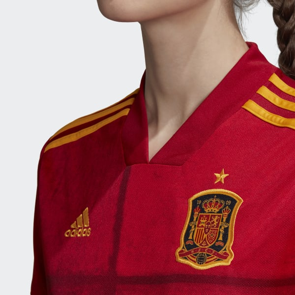 adidas Spain Home Jersey - Red   FI6238   adidas US