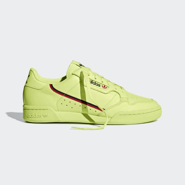 adidas Continental 80 Shoes - Yellow