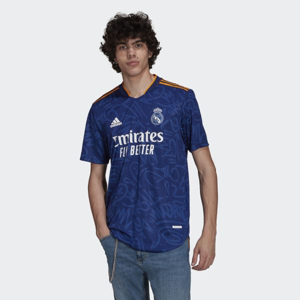 Real Madrid 21/22 Away Authentic Jersey