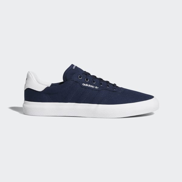 confirmar Modernizar Prohibición  adidas 3MC Vulc Shoes in Blue and White | adidas UK