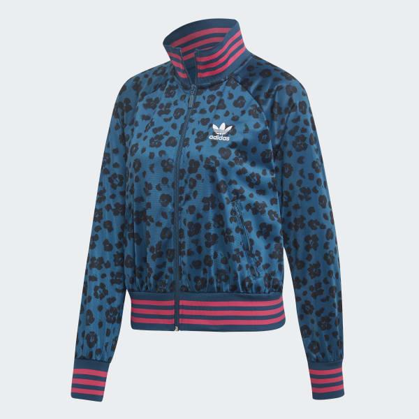 adidas Allover Print Originals Jacke Blau | adidas Deutschland
