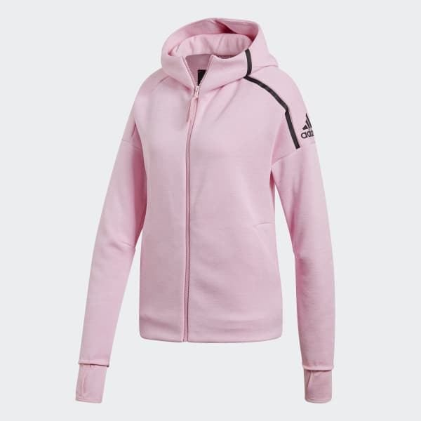 b850526be7e adidas Z.N.E. Fast Release Hoodie - Pink | adidas US