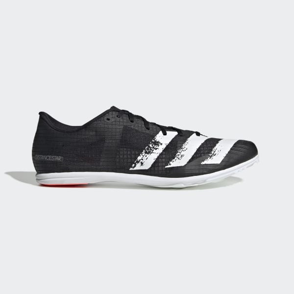 adidas Distancestar Spikes - Black