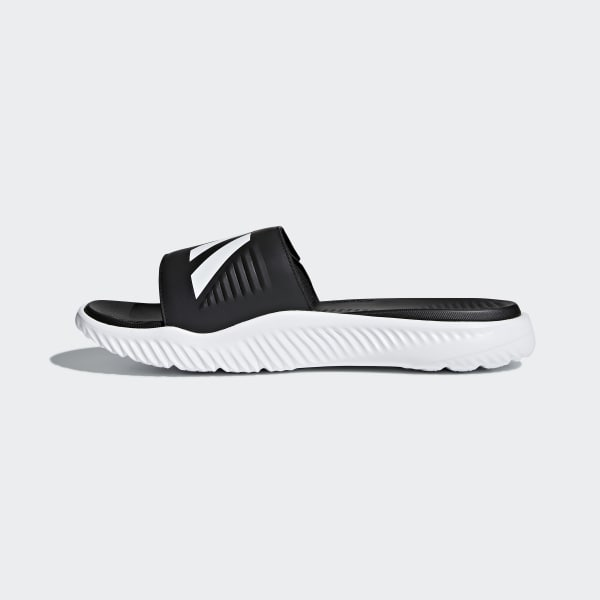 e48f0ca81a5 adidas Alphabounce Basketball Slides - White