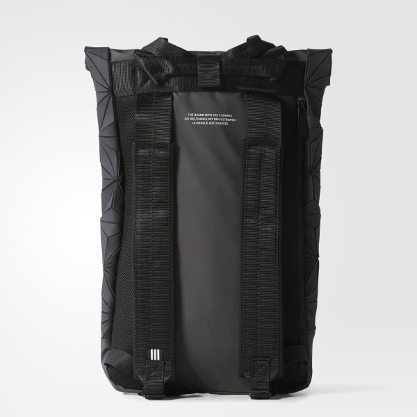 61bf95e294 adidas 3D Roll Top Backpack - Black