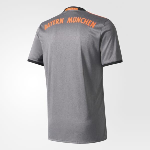 FC Bayern München Camiseta de visitante - Gris adidas  664dc8ac6533e