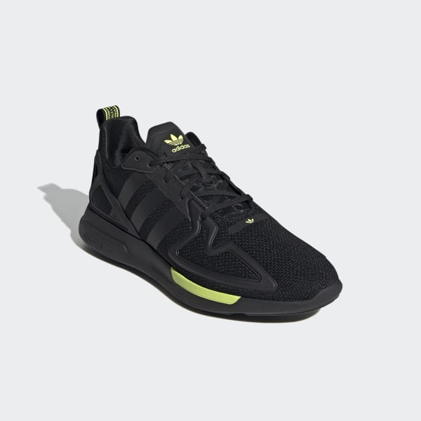 Chaussures ZX 2K Adiprene X noires et jaunes | adidas France