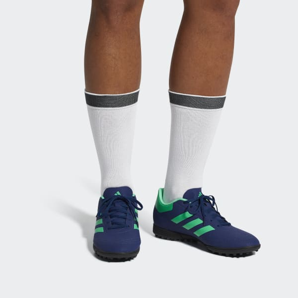 adidas Zapatos de fútbol Turf Goletto 6 - Azul  6c0cf537aa8f0