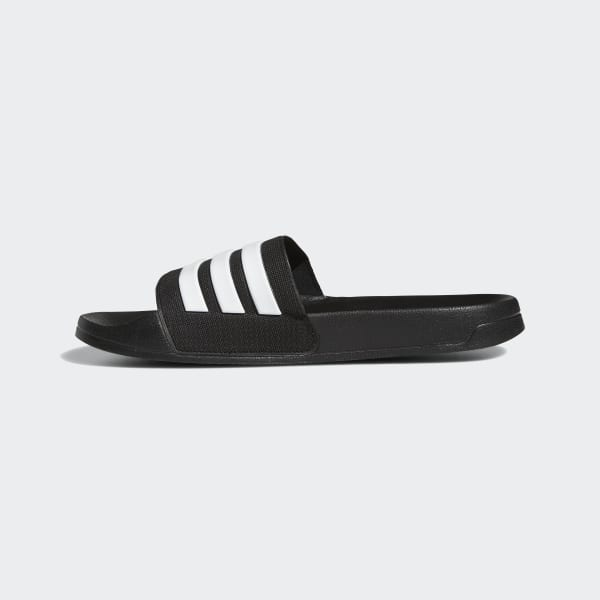 c13dd64a114 Sandale Adilette Cloudfoam - noir adidas