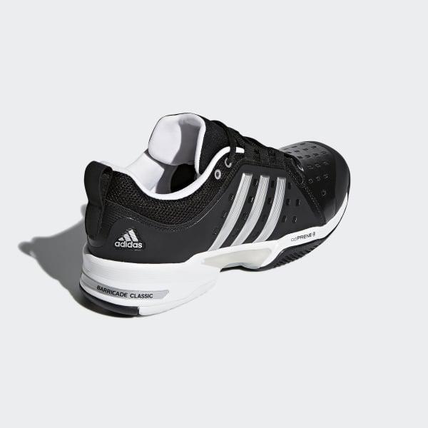 634b89de7 adidas Barricade Classic Wide 4E Shoes - Black