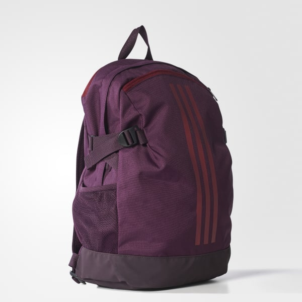 adidas 3-Stripes Power Backpack Medium - REDNIT  498868fe048c5