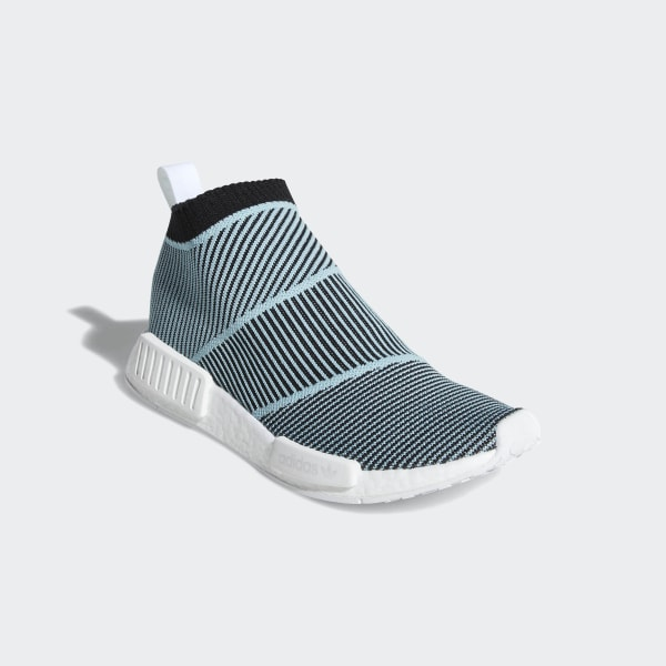 2d352964912 adidas NMD CS1 Parley Primeknit Shoes - Black