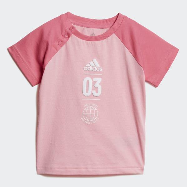 121c99d8d27d9 Ensemble Summer - rose adidas