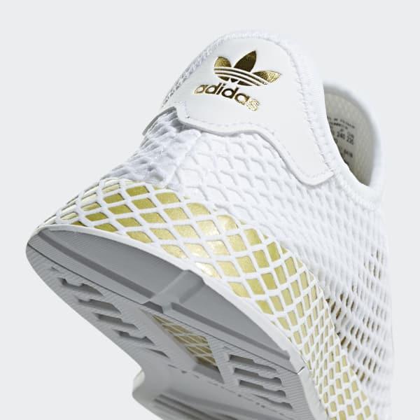 check out e761c b1158 adidas Deerupt Runner Shoes - White | adidas Australia