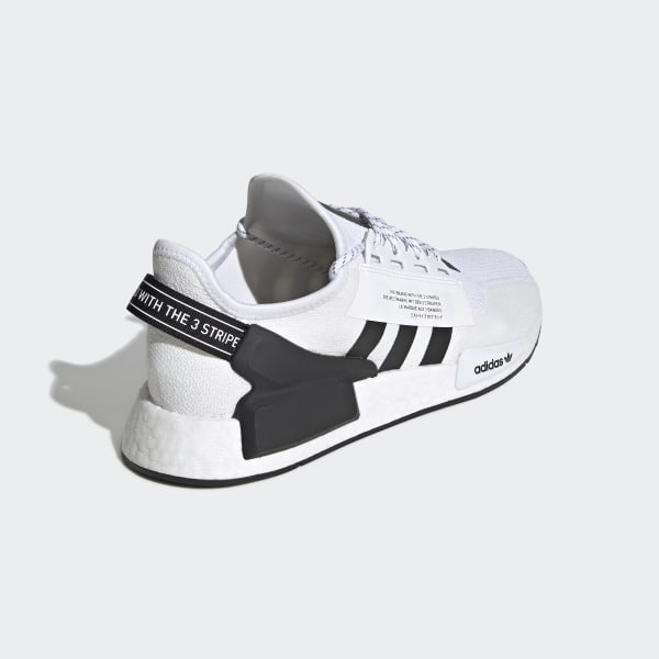 Chaussures NMD_R1 V2 blanches et noires | adidas France