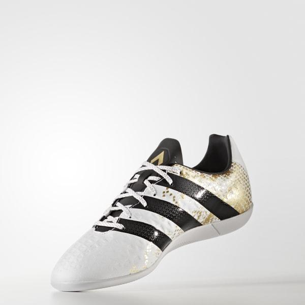 e71c192726 Chuteira Ace 16.3 - Futsal - Branco adidas