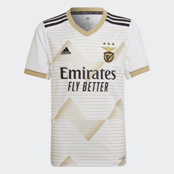 Adidas Benfica 20 21 Third Jersey White Adidas Uk