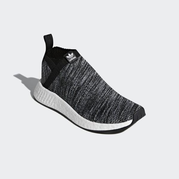 D96743 Adidas NMD CS2 Primeknit HvidGråCore Black Herresko