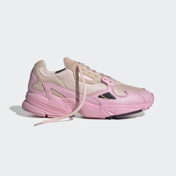 adidas falcon rosa nere