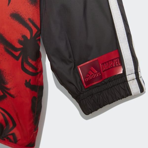 3195c9a362e6d Coupe-vent Marvel Spider-Man - rouge adidas
