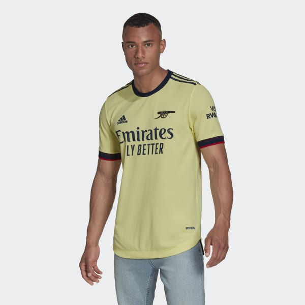 Arsenal 21/22 Away Authentic Jersey