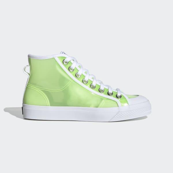 adidas Nizza Hi Jelly Shoes - Green