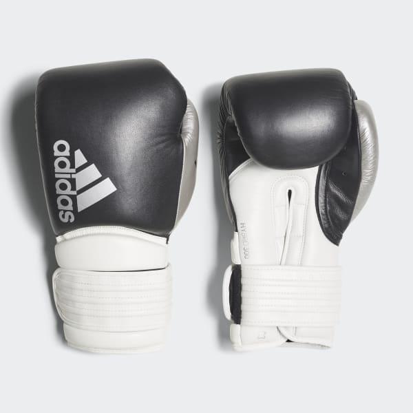 Equipar aerolíneas Temblar  adidas Hybrid 300 Boxing Gloves - Black | adidas UK