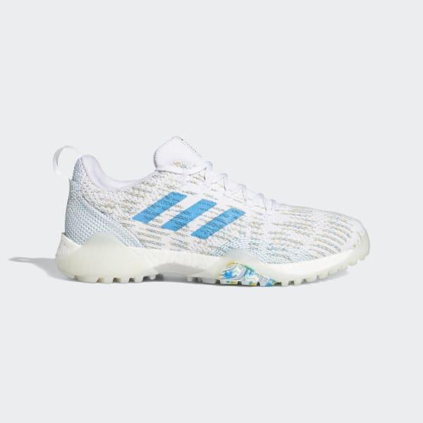 adidas CodeChaos Primeblue Golf Shoes - White | adidas US