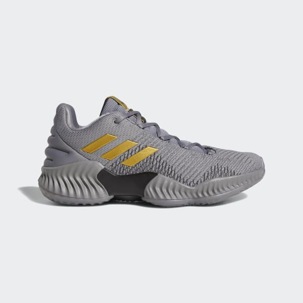 adidas Pro Bounce 2018 Low Shoes - Grey