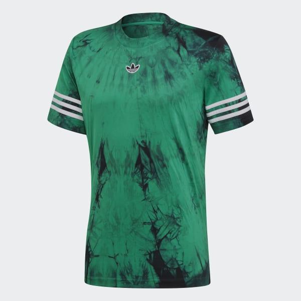 f6fcc9171 adidas Space-Dyed Jersey - zielony | adidas Poland