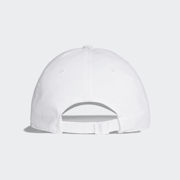 fb1cf1de3af adidas Classic Six-Panel Lightweight Cap - White