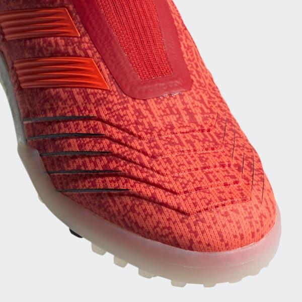 CHUTEIRA PREDATOR 19 0 TF - Vermelho adidas  c07da89556db1