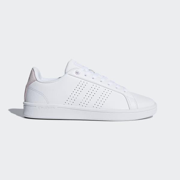adidas Cloudfoam Advantage Clean Shoes - White | adidas Singapore