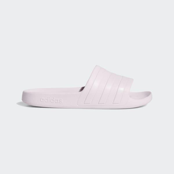 adidas Adilette Aqua Slides - Purple | adidas US
