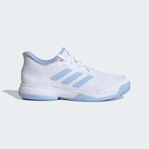 Blue Sports Breathable Lightweight adidas Womens adiZero Club 2 Tennis Shoes