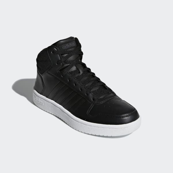 4e3b5a37 adidas Баскетбольные кроссовки Hoops 2.0 Mid - черный | adidas Россия