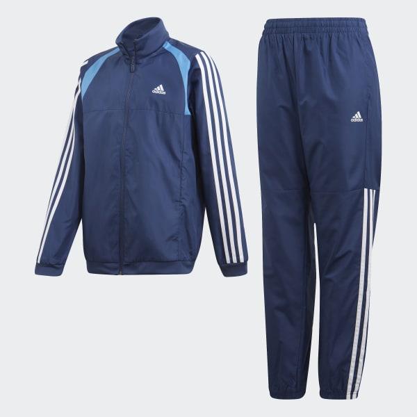 adidas Woven Trainingsanzug Blau | adidas Austria